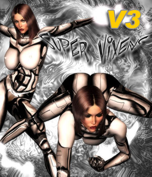 Super Vixen Poses I 3D Figure Essentials Darkworld
