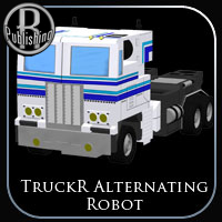 TruckR Alternating Robot Stand Alone Figures Themed RPublishing