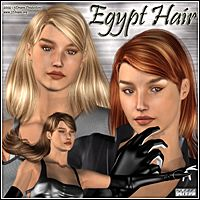 Egypt Hair by 3Dream