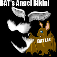 BAT's Angel Bikini Clothing BATLAB