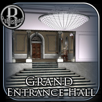 Grand Entrance Hall (Poser & OBJ) Themed Props/Scenes/Architecture RPublishing