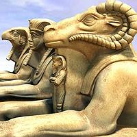 Egyptian Statues (Poser Version) 3D Models the hankster