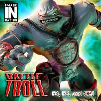 IN Battle Troll 3D Models winnston1984