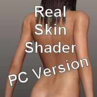Real Skin Shader 3D Figure Assets face_off
