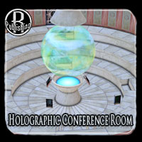 Holographic Conference Room Poser & OBJ Themed Props/Scenes/Architecture RPublishing