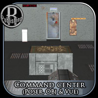 Command Center (Poser, OBJ & Vue) Props/Scenes/Architecture Themed RPublishing