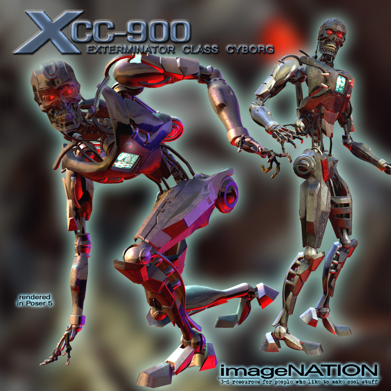 XCC-900 Cyborg by winnston1984