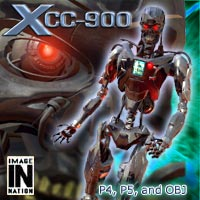 XCC-900 Cyborg 3D Models winnston1984
