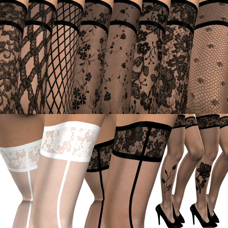 Ultra Lace Stockings for V3, SP3 and Aiko 3