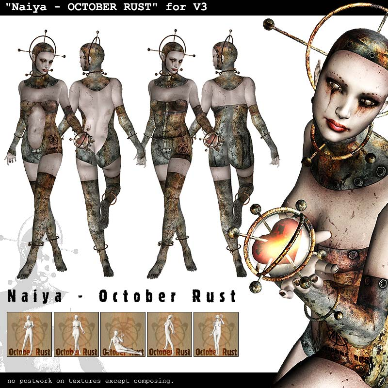 Naiya  OCTOBER RUST