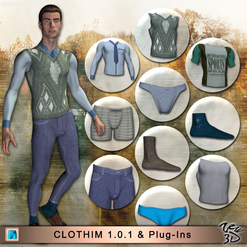 CLOTHIM 1.0 for M3