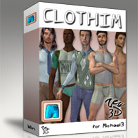 CLOTHIM 1.0 for M3 Software 3D Figure Essentials zew3d
