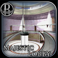 Majestic Lobby (Poser, VUE & OBJ) Props/Scenes/Architecture Themed RPublishing