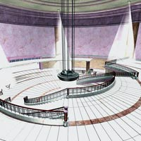 Majestic Lobby (Poser, VUE and OBJ) image 5