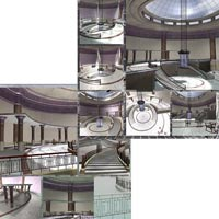Majestic Lobby (Poser, VUE and OBJ) image 6