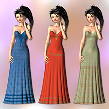 Gown and 6 Styles for Aiko 3 image 1