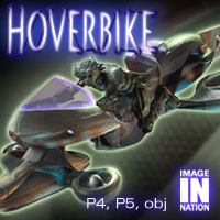 IN Hoverbike 3D Models winnston1984