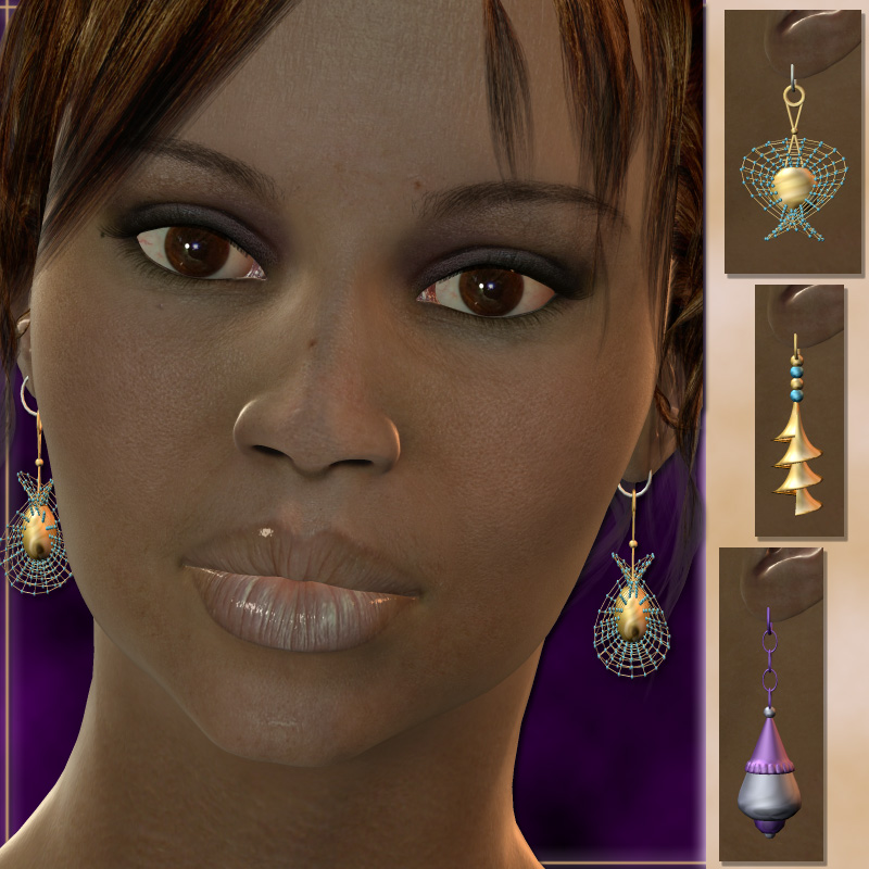 Karanta`s Earrings for V3 by karanta