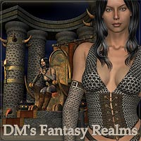 DM Fantasy Realms 3D Models 3D Figure Essentials Danie