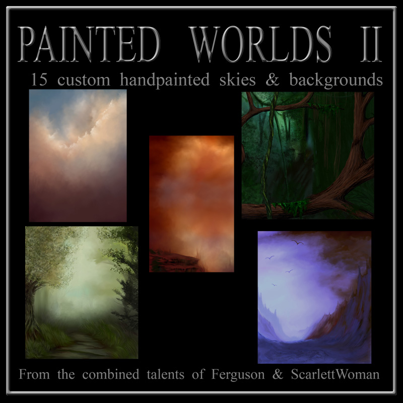 Painted Worlds II by Pen_Is_Envy
