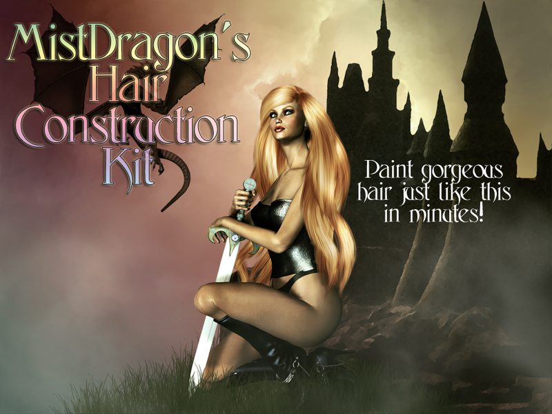 MistDragon's Hair Construction Kit