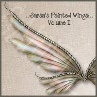 Sarsa's Painted Wings Volume I 2D And/Or Merchant Resources Themed sarsa