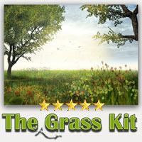 The Grass Kit 2D Graphics Tutorials : Learn 3D 3D Models A_