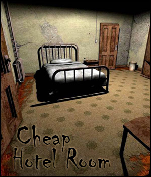 Cheap Hotel Room for Poser 3D Models RPublishing