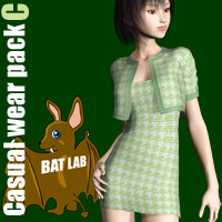 Casual wear pack C Clothing BATLAB
