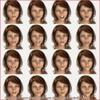 Expressions for Aiko 3 Realistic image 1