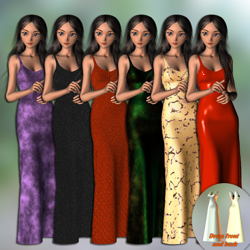 Aiko Dynamic Gown and 20 Styles by karanta