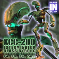 IN XCC-200 Cyborg 3D Models winnston1984