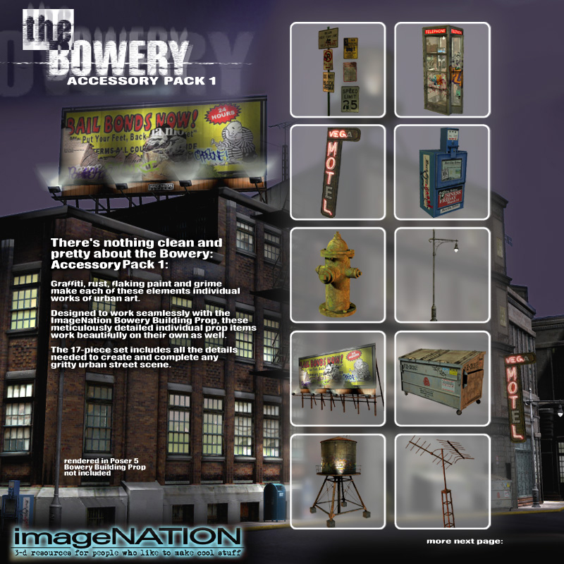 Bowery Exp. Pack 1 Street Accessories