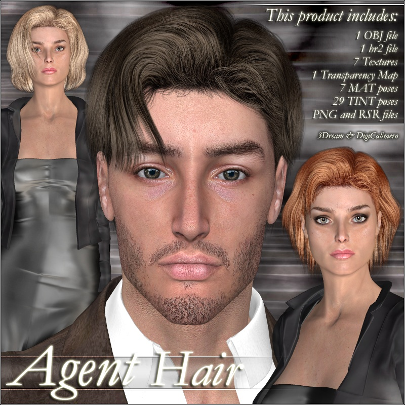 Agent Hairby3Dream()