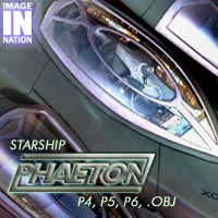 Phaeton Starship by winnston1984