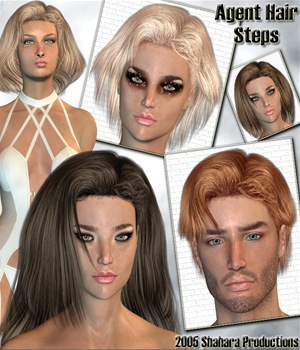Agent Hair Steps 3D Figure Essentials Shahara