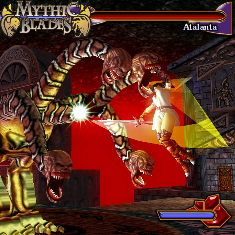 Mythic Blades (3D Fighting Game For PC