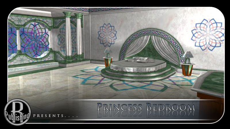 Princess Bedroom (Poser  & OBJ)