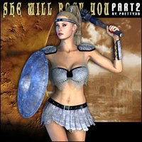 She Will Rock You - Part 2 3D Figure Assets Pretty3D