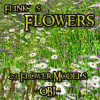 Flinks Flowers 3D Models Flink