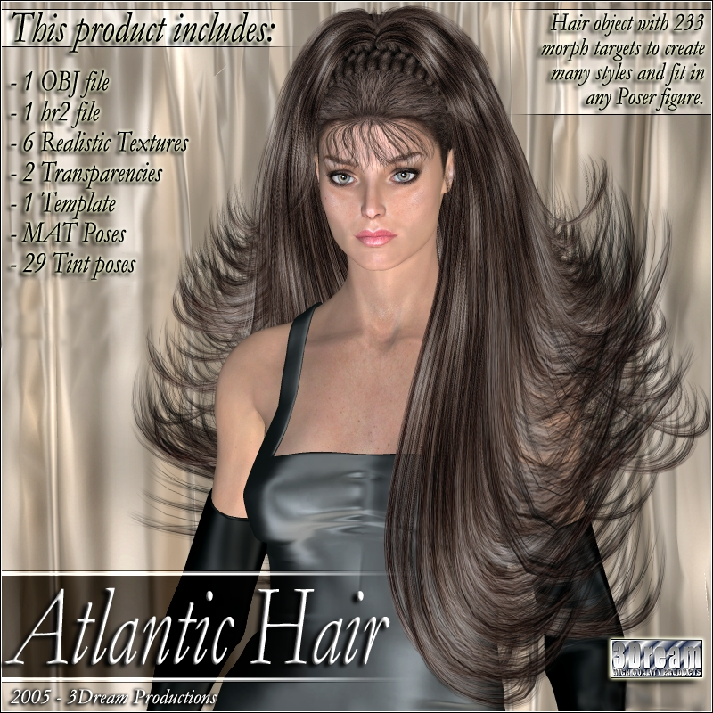 Atlantic Hair by 3Dream