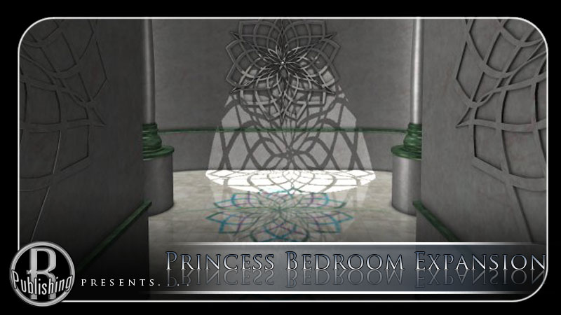Princess Bedroom Expansion (Poser & OBJ)