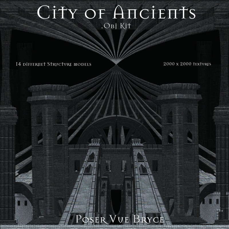 City of Ancients .Obj Kit