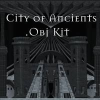 City of Ancients .Obj Kit Themed Props/Scenes/Architecture Poisen