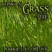 Flinks Grass - lite 3D Models Flink