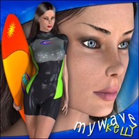 My Wave - Kelly Characters Clothing mytilus
