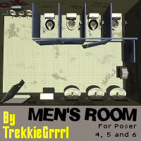 Men's Room 3D Models TrekkieGrrrl