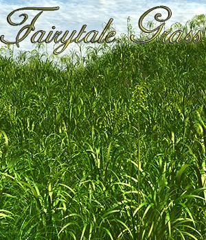 Fairytale Grass 3D Models Flink