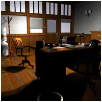 Film Noir Detective Office (Poser & Vue) Themed Props/Scenes/Architecture RPublishing