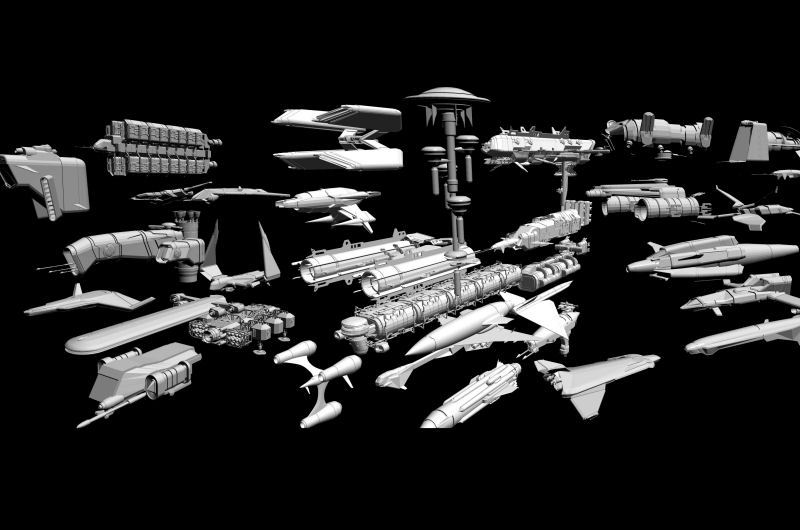 Avalon3d SF Starcraft Bundle